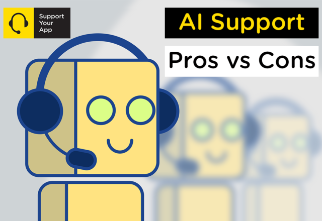 AI Support – Pros vs Cons