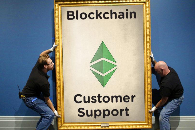 blockchain customer support