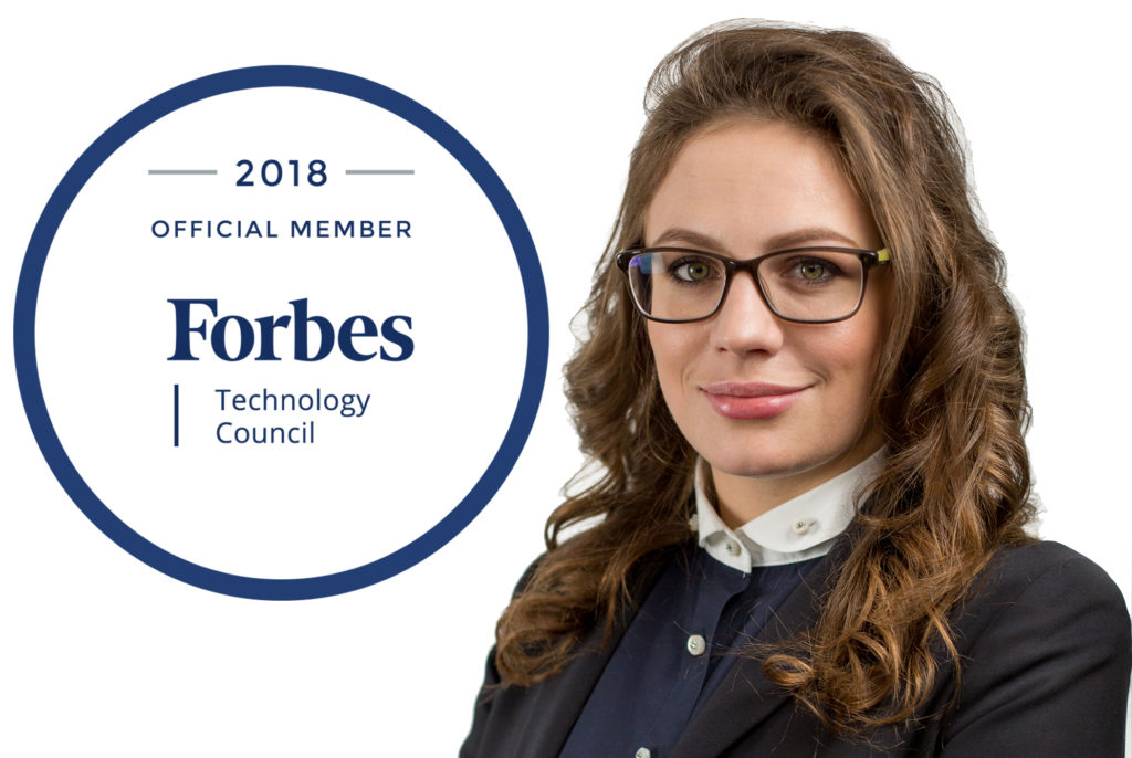 Daria Leshchenko Accepted Into Forbes Technology Council