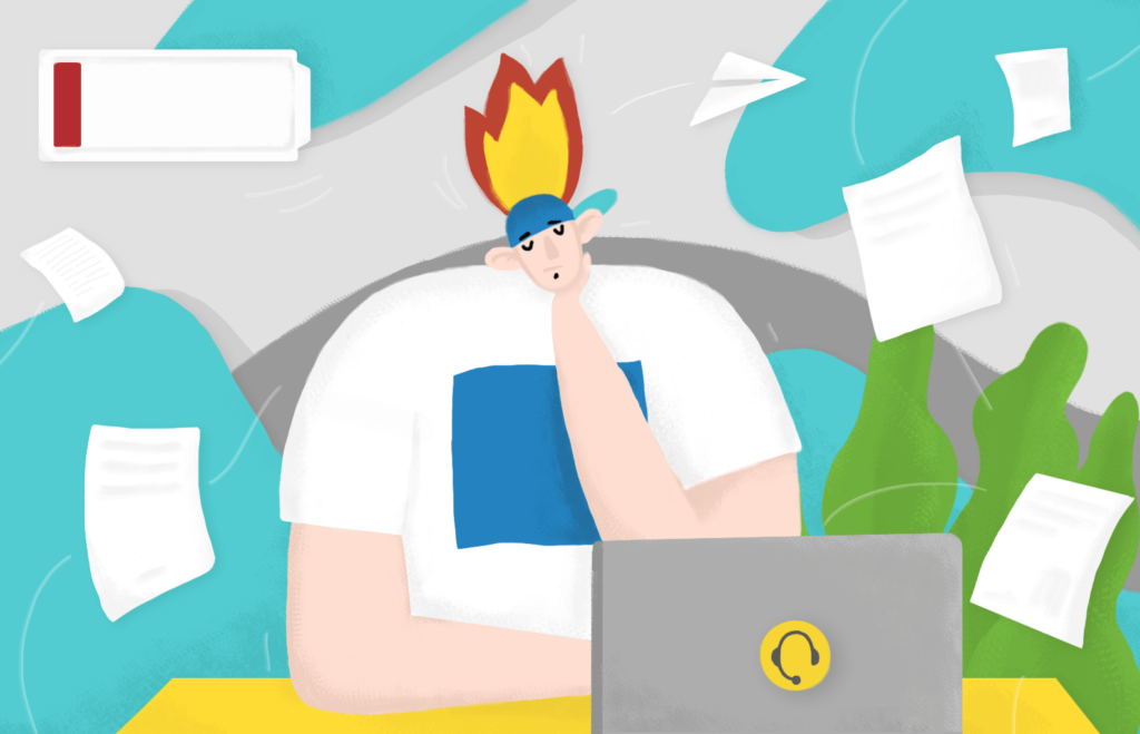How to Recognize a Call Center Burnout and Reduce It